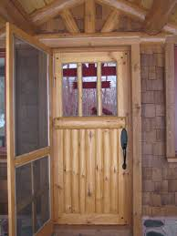 Exterior Door Insulation by Custom Made Bolder Shores Log U0026 Branch Entry Door Insulated Door