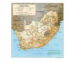 map of south africa maps of south africa detailed map of republic of south africa in