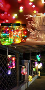 Christmas Light Ideas by Best 25 Solar Mason Jars Ideas On Pinterest Mason Jar Solar