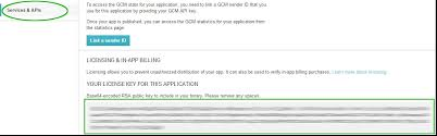 android license using the in app billing adobe air extension for android