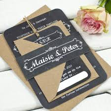 chalkboard wedding invitations by norma u0026dorothy