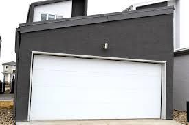 City Overhead Doors Flush Panel Garage Doors City Overhead Door Residential