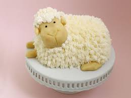 Decorated Easter Cakes Recipes by How To Make An Easter Lamb Cake Food Network Easter Recipes