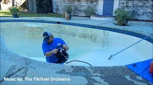 Acid Wash Pool  Kirbys Pool Service  Repair  YouTube