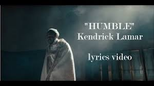 Vanity Slaves Lyrics Humble Kendrick Lamar