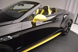 bentley sports car interior 2017 bentley continental gt speed black edition convertible stock