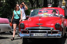 expensive pink cars amazing photos of classic cars in cuba the farce report part 4