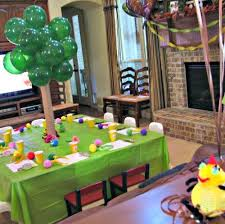 Spongebob Centerpiece Decorations by 63 Popular Cartoon Character Birthday Party Themes Tip Junkie