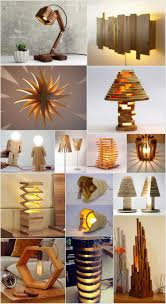 Recycled Home Decor Projects Breathtaking Diy Wooden Lamp Projects To Enhance Your Home Decor
