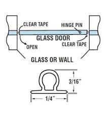 wgsonline clear vinyl bulb shower door seal 98