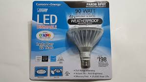 Illumin8 Led by Feit Electric Par38 Dimmable Led Light Bulb Weatherproof