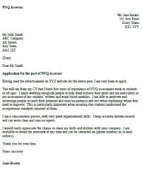 nvq assessor cover letter example u2013 cover letters and cv examples