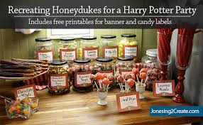 where to buy harry potter candy recreating honeydukes for a harry potter party jonesing2create