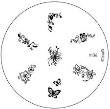 konad stamping nail art image plate m36 price in india buy