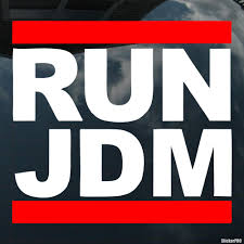 jdm sticker on car decal run jdm buy vinyl decals for car or interior decal