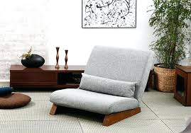 Single Living Room Chairs Armless Living Room Chair Floor Folding Single Seat Sofa Bed