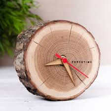 wood gifts for him gifts for him ideas this rustic wooden clock is handmade