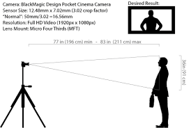 How To Calculate The Needed Field Of View How To Calculate The Correct Focal Length Needed