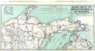 Map Of Northern Michigan by Road Map Of Upper Michigan Michigan Map
