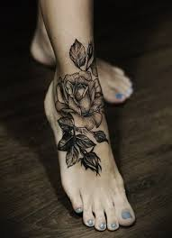 110 most popular foot tattoos and meanings tattoozza