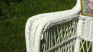 Can You Paint Wicker Chairs How To Paint Cane Chairs Youtube