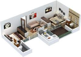 650 Square Feet Floor Plan 650 Sq Ft 2 Bhk 2t Apartment For Sale In Xrbia North Hinjewadi