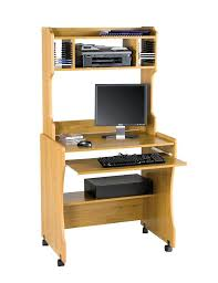 Small Computer Desk With Drawers Compact Computer Desk Solid Wood Small Computer Desk With Printer