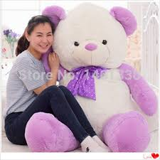 teddy for s day aliexpress buy teddy plush s day purple teddy