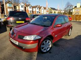 2006 renault megane 1 6 dynamic 3 door manual facelift low mileage