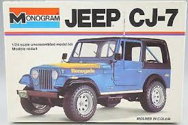 jeep model kit monogram model car collection on ebay