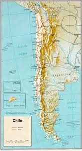 Bariloche Argentina Map Mapa Do Chile Mapa De Chile Map Of Chile Photo Page