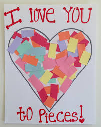 toddler valentine u0027s day craft i love you toddler card kid art