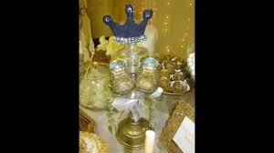 royal prince theme baby shower candy table youtube