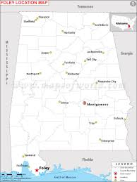 Geneva Illinois Map by Where Is Foley Located In Alabama Usa
