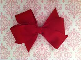 bow for hair to make ribbon bows for hair accessories 3 step tutorial