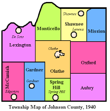 map of counties in kansas johnson county kansas kansas historical society