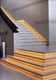 Stair Lighting by This Is A Good Example Of What An Led Strip Under The Lip Of Each