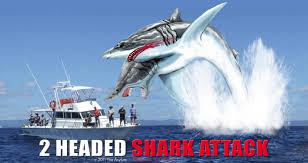 Shark Attack Meme - sharknado is nothing on two headed shark attack album on imgur