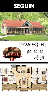 best 20 pole barn house plans ideas on pinterest barn house the most unique feature of the beaver homes and cottages seguin model is its versatility of showing either side as the front of the house depending on your