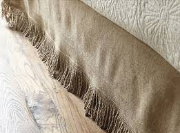 Burlap Bed Skirt 15 Ways To Decorate With Burlap