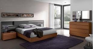 Light Wood Bedroom Exclusive Modern Design Light Brown Color Wooden Bedroom Set