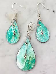 original earrings annemarie ridderhof original seafoam green earrings seafoam