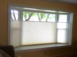decor u0026 tips thermal blinds for bay window treatments with
