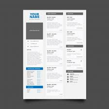 Free Traditional Resume Templates Classic Resume Template Vector Free Download