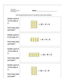 division math problems picture math division