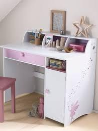 bureau de fille bureau blanc pour fille bureau informatique bois