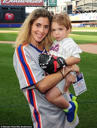 Is Lenny Dykstra S Post Prison Comeback Already Over - jamie lynn sigler and son beau dykstra attend a ny mets baseball