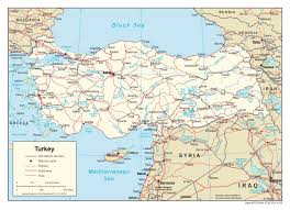 Map Of Europe With Major Cities by Maps Of Turkey Detailed Map Of Turkey In English Tourist Map