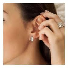 rox diamond earrings lyst rox diamonds and thrills tiki mini diamond white gold