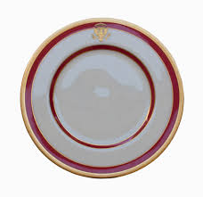 House Plate Lot Detail Ronald Reagan White House China Plate U0027 U0027the White